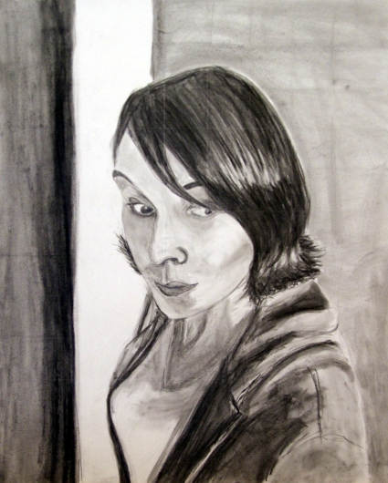 Self Portrait, Graphite on Bristol, 2013