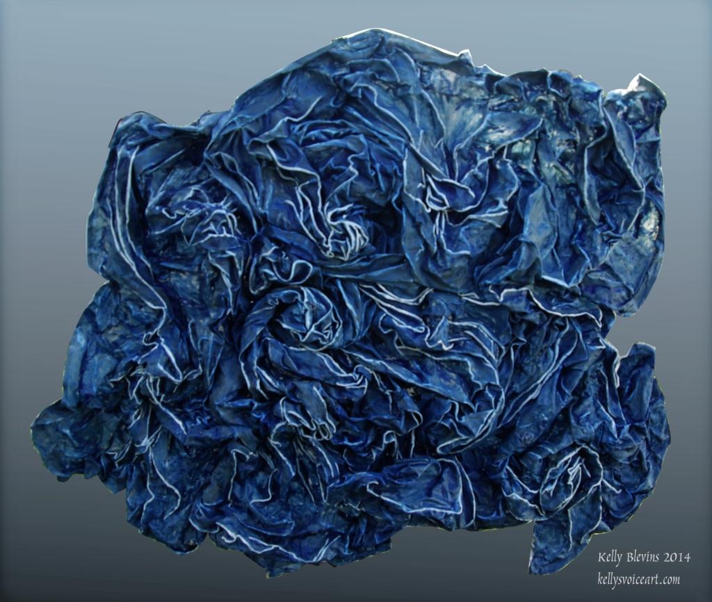 """Untitled"" Fiber Sculpture"